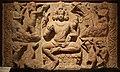 Brahma, dal soffitto ddel tempio di huchchappaiyya gudi, aihole (balgakot), karnataka, VII secolo.jpg