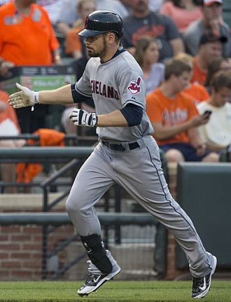 Brandon Moss - Moss with the Cleveland Indians