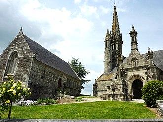 Brasparts - The church in Brasparts