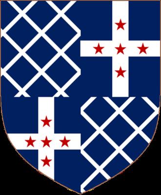 Baron Braye - The arms of Lord Braye.
