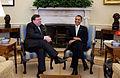 Brian Cowen and Barack Obama 2010-03-17.jpg