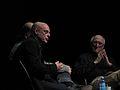 Brian Eno, Stewart Brand by Pete Forsyth 04.jpg