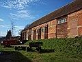 Brick barn at Church Farm, West Dean - geograph.org.uk - 356040.jpg