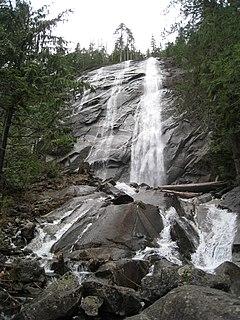 Bridal Veil Falls (Washington) waterfall in the U.S. state of Washington