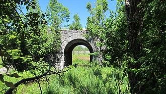 Toronto, Grey and Bruce Railway - Old bridge on Toronto, Grey and Bruce Railway