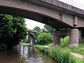 Bridges across the Trent and Mersey Canal at Rugeley - geograph.org.uk - 1004506.jpg