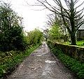 Bridleway near Church - Coley Road - geograph.org.uk - 783793.jpg