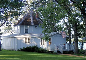 National Register of Historic Places listings in Meeker County, Minnesota - Image: Brightwood Beach Cottage
