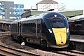 Bristol Temple Meads - GWR 800018 arriving from London.JPG