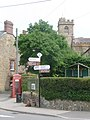 Broadwindsor, Bernard's Place signpost - geograph.org.uk - 1383087.jpg