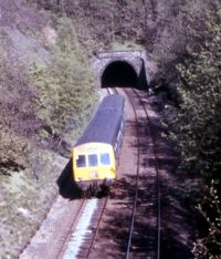 Thurstonland Tunnel, 1970s