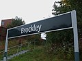 Brockley station signage.JPG