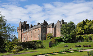 County of Bute - Image: Brodick Castle Main Building East 01