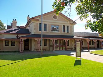 Broken Hill - The Broken Hill court house