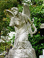 Brompton Cemetery - Angel with Harp.jpg