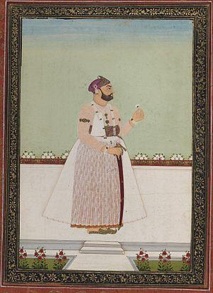 Mir Akbar Ali Khan Sikander Jah, Asaf Jah III - Munir al-Mulk Bahadur-minister of Nizam