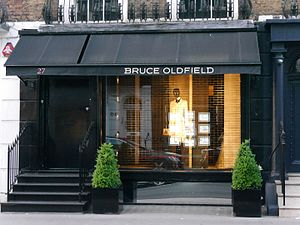 Bruce Oldfield - Bruce Oldfield store, Beauchamp Place, London (2016)