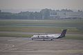Brussels Airlines (Flybe) G-ECOI Dash 8Q400 Brussels Airport.jpg