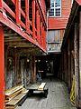 Bryggen i Bergen - Svensgården fra Bryggestredet.jpg