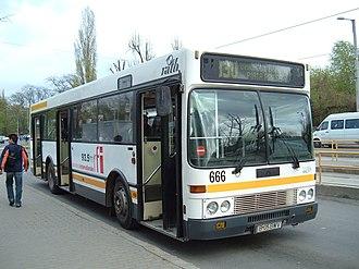 DAF SB220 - DAF SB220 in Bucharest, Romania (operated by RATB).