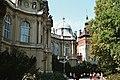 Budapest, the yard of the Vajdahunyad castle .jpg
