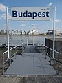 Budapest Nr. 37 Donaustation und Ludwig Museum, 2019 Lágymányos.jpg