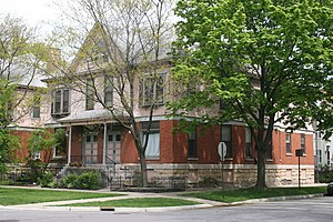 National Register of Historic Places listings in Evanston, Illinois - Image: Building at 1301 1303 Judson 2
