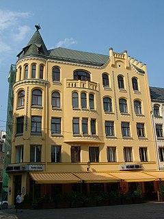 Cat House, Riga Building in Riga, Latvia