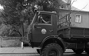 КамАЗ Википедия Автомобиль КамАЗ 43105 ГСВГ ВС СССР август 1991 года