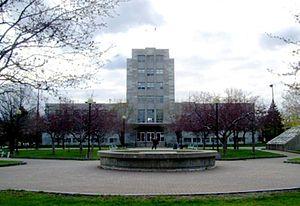 Verdun, Quebec - Verdun City Hall, now the borough hall.