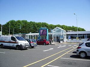 Burton-in-Kendal Services - The main building