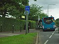 Bus stop by Morrisons - geograph.org.uk - 3030107.jpg