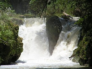 Loboc River - Image: Busay Falls on Loboc River