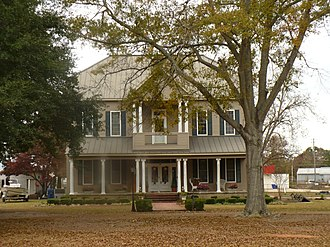 National Register of Historic Places listings in Clarke County, Alabama - Image: Bush House