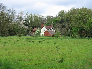 Bushwood village in United Kingdom