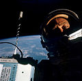 Buzz Aldrin self-photograph during Gemini 12 EVA (S66-62926).jpg