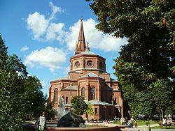 Bydgoszcz-kościół parafialny śś.Piotra i Pawła