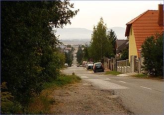 Pereš - Image: Bystrická ulica panoramio