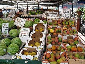 ByWard Market - The Byward Market provides fresh produce throughout the warm months