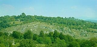 Mehedinți Plateau Geopark protected area