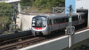 MTR CNR Changchun EMU - MTR C-train on the Kwun Tong Line