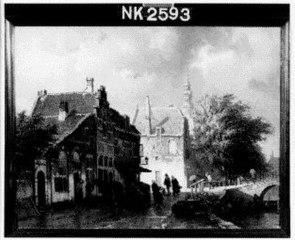 De Raamgracht bij de Doelstraat te Haarlem