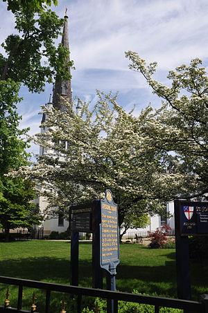 Carlisle Historic District (Carlisle, Pennsylvania) - The area near St. John's Episcopal Church