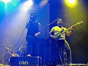 Cavo - Cavo performing at the Carnival of Madness tour in Laredo, Texas