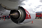 CFM International CFM56-7B26 fitted to Qantas (VH-VZY) Boeing 737-838 (WL) at the Canberra Airport open day.jpg