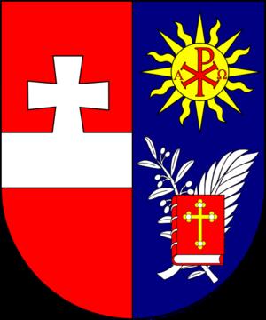 Anton Josef Gruscha - Image: COA cardinal AT Gruscha Anton Josef