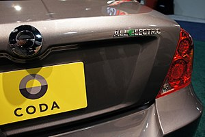 Image Result For Coda Electric Car