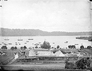 Fort Nassau, Banda Islands - Fort Nassau, Bandainaira (early 20th century)