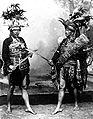 COLLECTIE TROPENMUSEUM Oude krijgskleding van de Minahasa van Celebes TMnr 10002050.jpg