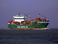 CSCL Genoa , IMO 9222091, Port of Rotterdam 08-Apr-2007.jpg